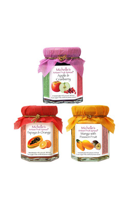1 trio of jams michelle spread artisan food